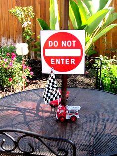 """Photo 1 of 71: Disney Pixar Car's Party / Birthday """" Raceway""""   Catch My Party"""