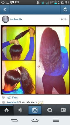 Pin up sew in
