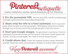 Is Pinterest Good or Bad for Bloggers? | intellectual property & copyright issues | What's YOUR opinion?