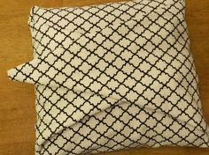 No sew pillow cases- hoooray!