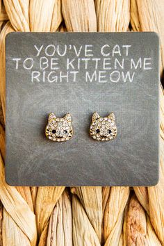 You've Cat To Be Studs