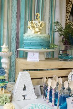 Under the Sea Mermaid Party #underthesea #mermaidparty