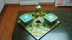 Cub Scout - Boy Scout Crossover Cake By tryosif on CakeCentral.com