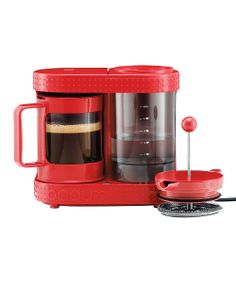 Red Bistro Electric French Press