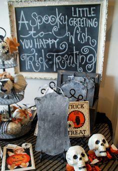{Ella Claire}: chalkboard idea for Halloween