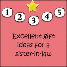 Christmas Gift Ideas For Sister In Law | My blog