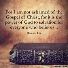 .Romans 1:16 Get your Gracemats today! http://gracemats.com/