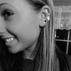 Ear candy #ear #piercings