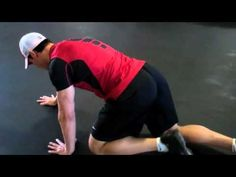 How to do the BEAR CRAWL with Joe Dowdell @Joe Dowdell @Sarah Dussault #fitfluential