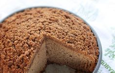 Gluten Free Applesauce Crumb Cake with Cinnamon