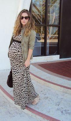 Maxi dresses are the essential maternity wardrobe!