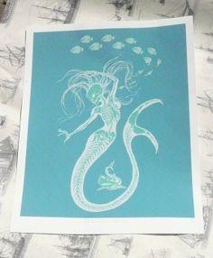Stunning mermaid