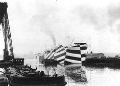 Dazzle Ship  USS West Mahomet (1918)