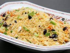 Get this all-star, easy-to-follow Food Network Mediterranean Couscous recipe from Claire Robinson.