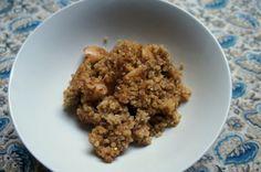 Baked Quinoa Porridge/Pudding (recipe testing for Ricki Heller)