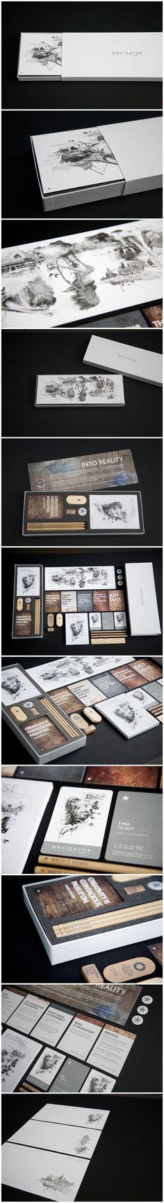 Navigator Films by Brett Atherstone #identity #packaging #branding #marketing PD