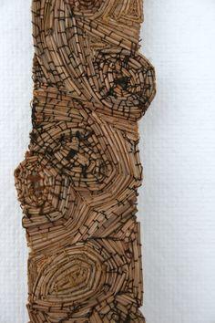 Katie Grove | Pine needles, fabric, yarn