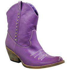 Make a statement in these purple Bolero boots