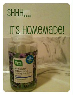 Random Recycling: Green Living for Modern Families: Shhh...we make our own hand soap