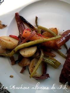 Papillotes de légumes