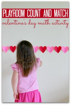 Use what they love to teach them math - fun Valentine's day idea.