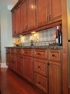 Sienna Rope Completed Kitchen March 2013 - Buy Sienna Rope Cabinets from Kitchen Cabinet Kings