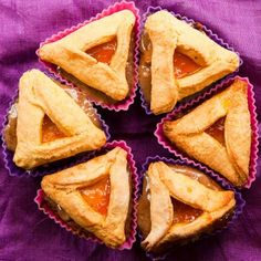Hamantashen Cupcakes for Purim