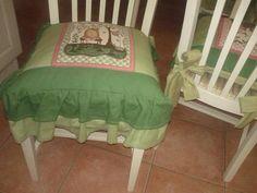 cuscini countri, countri con, tessuto americano, stile countri, con tessuto