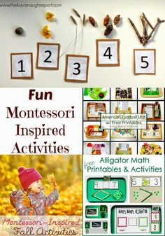 Montessori Activities for Share it Saturday