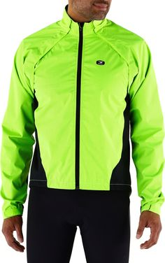 Not just bright, this jacket will make you glow.