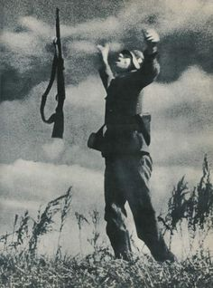 A German soldier is hit by enemy fire, Ukraine, c. 1943