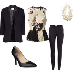 """""""A Little Peplum in Your Step"""" by yasi-hellogorgeous on Polyvore"""