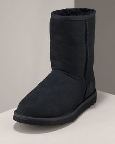 UGG Australia  Classic Short Boot, Black  $155 I have these
