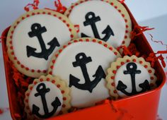 Anchor Decorated Sugar Cookies (12) $29