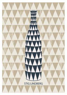 #Poster - #Scandinavian, Mid Century Modern, #Retro via Etsy.