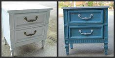 Lots of repainted furniture ideas.
