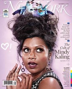 Mindy Kaling new york magazine. best cover ever.