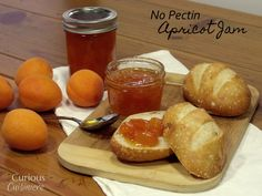 No Pectin Apricot Jam from Curious Cuisiniere #sundaysupper