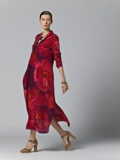 fashion weeks, red fashion, maxmara caftano, resort 2012, shirts