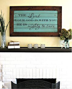 Love these signs!  http://www.etsy.com/shop/aimeeweaver