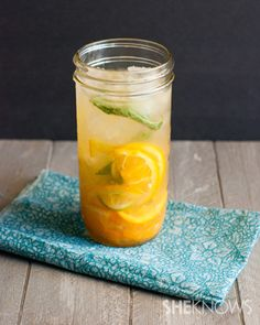 Fresh fruit infused water recipe