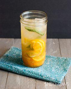 Fresh fruit infused water recipe