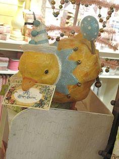 Precious Alert! Easter decor around the Shoppe!