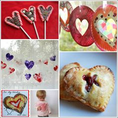 Valentine's Day Crafts and Recipes in The Artful Winter eBook -- Lots of unique ones! (Plus links to all the Valentine's activities previously posted on The Artful Parent!)