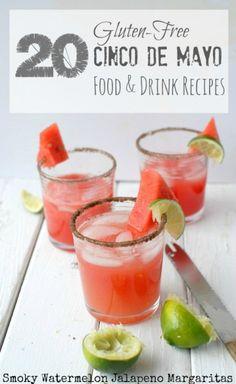 20 Gluten-Free Cinco de Mayo Food & Drinks Recipes | BoulderLocavore.com #glutenfree #CincoDeMayo