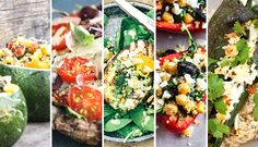 On our dinner menu this week? Stuffed Veggies. Here, five awesome and unique stuffed vegetables recipes. Pizza stuffed portobellos, anyone?
