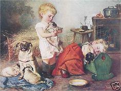 Kids and Pugs