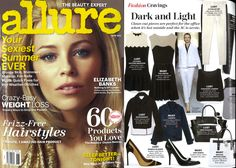 Our Two-Tone Ponte Dress featured in Allure's June issue