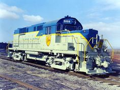 Delaware and Hudson Alco RS11 Diesel Locomotive.