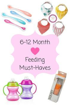 6-12 month baby feed